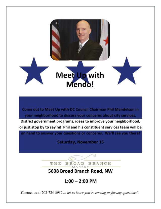 Want to Meet Up With Mendo?